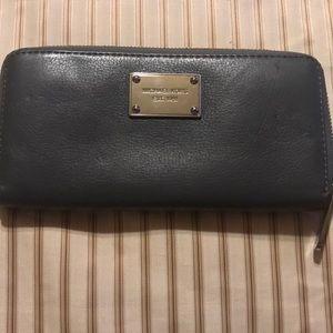 Michael Kors continental zipper wallet